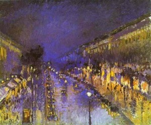 pissarro-montmartre-night